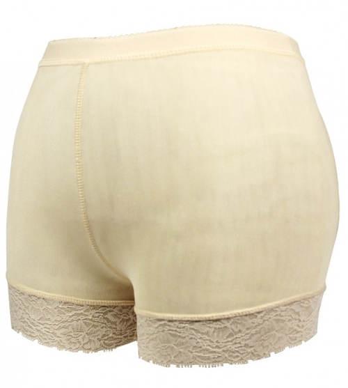 Telesné nohavičky s čipkovanými nohavičkami